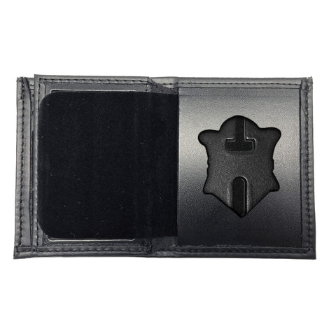 Massachusetts Department of Correction (DOC) Bifold Hidden Badge Wallet-Perfect Fit-911 Duty Gear USA