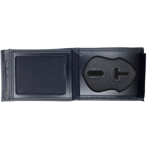 Seattle Police Department Horizontal Bifold Hidden Badge Wallet-Perfect Fit-911 Duty Gear USA