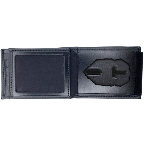 Florida Department of Corrections (DOC) Horizontal Bifold Hidden LARGE Badge Wallet-Perfect Fit-911 Duty Gear USA