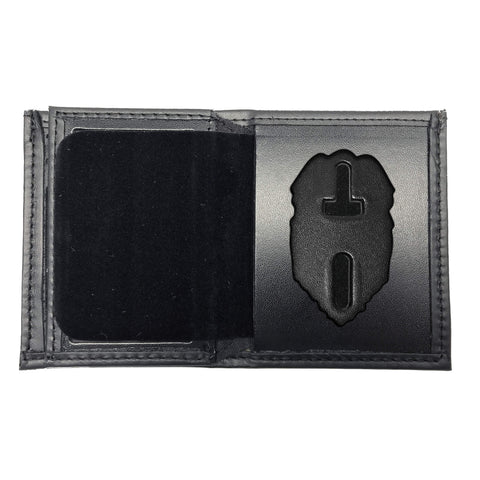 Florida Department of Corrections (DOC) Bifold Hidden LARGE Badge Wallet-Perfect Fit-911 Duty Gear USA