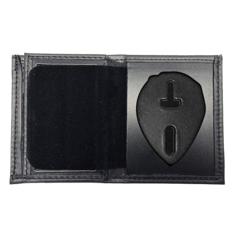 Charlotte-Mecklenburg Police Officer Bifold Hidden Badge Wallet-Perfect Fit-911 Duty Gear USA