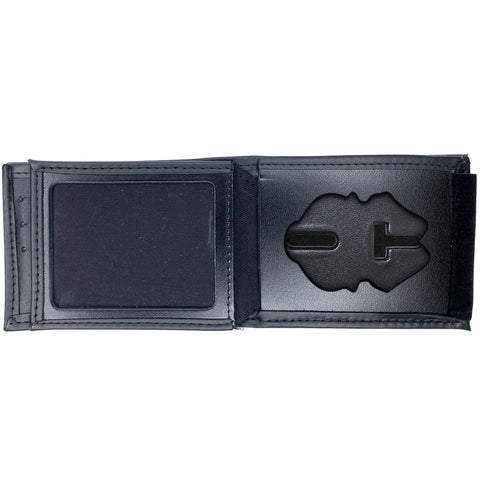 U.S. Army Military Police (MP) Horizontal Bifold Hidden Badge Wallet-Perfect Fit-911 Duty Gear USA