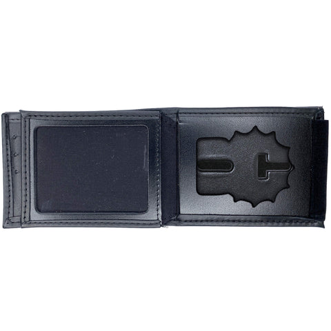 New York Police Department (NYPD) Detective Horizontal Bifold Hidden Badge Wallet-Perfect Fit-911 Duty Gear USA