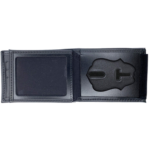 Federal Reserve Police Horizontal Bifold Hidden Badge Wallet-Perfect Fit-911 Duty Gear USA