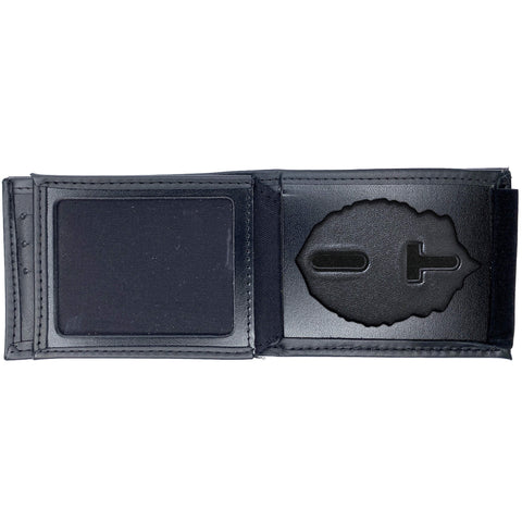 Massachusetts City Police (Multiple Cities) Horizontal Bifold Hidden Badge Wallet-Perfect Fit-911 Duty Gear USA
