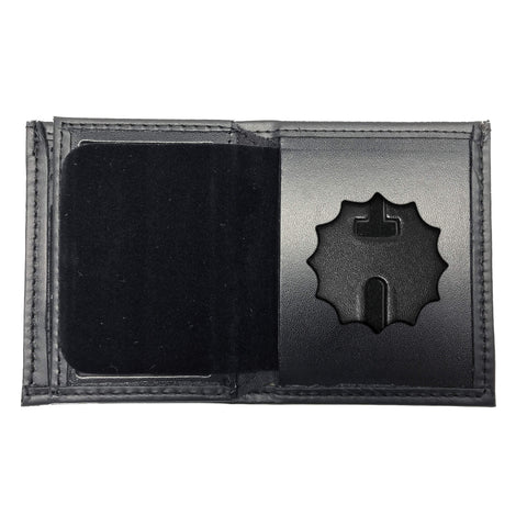 New York Police Department (NYPD) Lieutenant Bifold Hidden Badge Wallet-Perfect Fit-911 Duty Gear USA