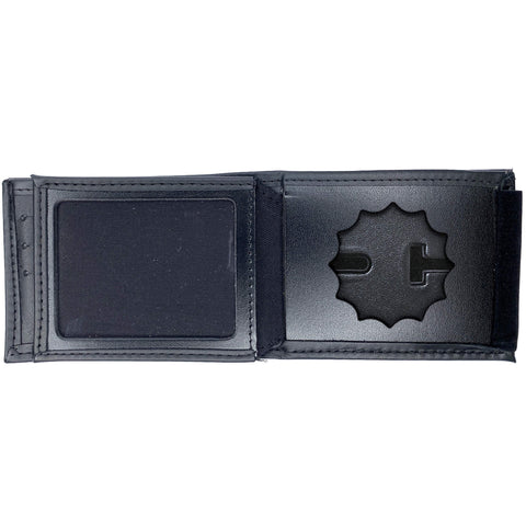 New York Police Department (NYPD) Lieutenant Horizontal Bifold Hidden Badge Wallet-Perfect Fit-911 Duty Gear USA
