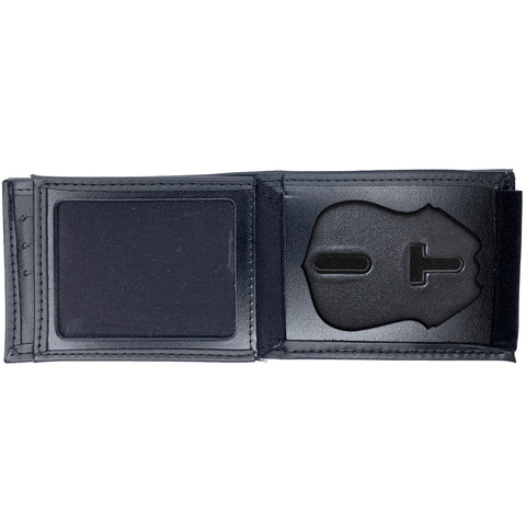 New York Police Department (NYPD) Sergeant Horizontal Bifold Hidden Badge Wallet-Perfect Fit-911 Duty Gear USA