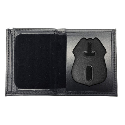 New York Police Department (NYPD) Sergeant Bifold Hidden Badge Wallet-Perfect Fit-911 Duty Gear USA