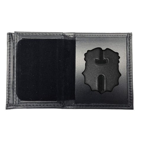 New York Police Department (NYPD) Chief-Inspector Bifold Hidden Badge Wallet-Perfect Fit-911 Duty Gear USA