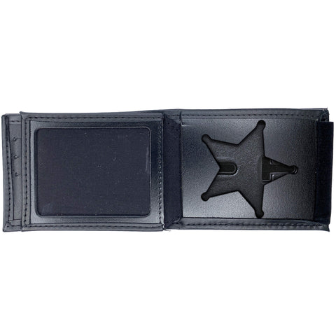 Ohio Sheriff Horizontal Bifold Hidden Badge Wallet-Perfect Fit-911 Duty Gear USA