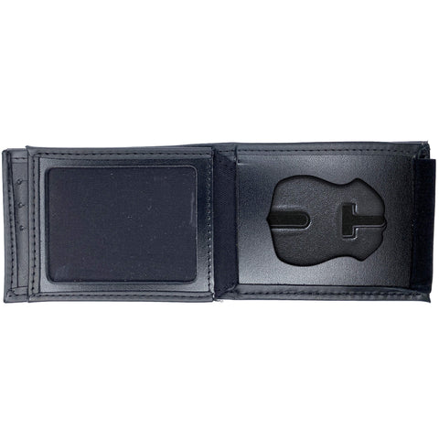 Michigan State Police Horizontal Bifold Hidden Badge Wallet-Perfect Fit-911 Duty Gear USA