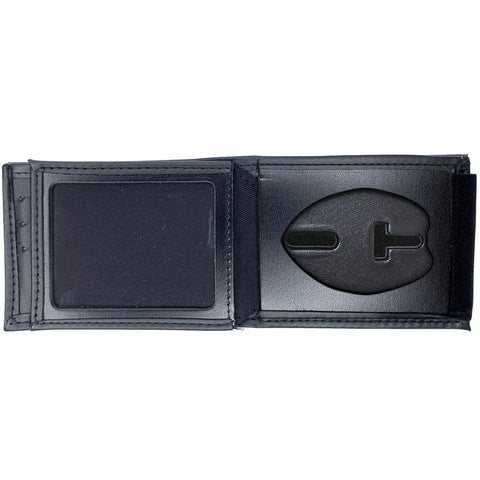 Miami-Dade Police Horizontal Bifold Hidden Badge Wallet-Perfect Fit-911 Duty Gear USA
