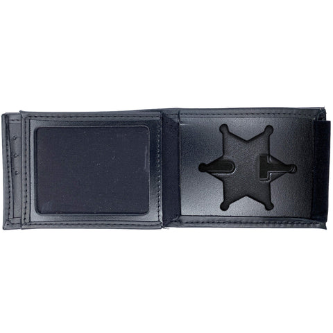 Illinois State Police Horizontal Bifold Hidden Badge Wallet-Perfect Fit-911 Duty Gear USA
