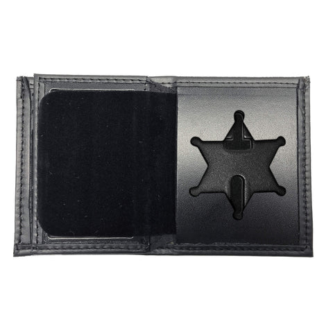 Illinois State Police Bifold Hidden Badge Wallet-Perfect Fit-911 Duty Gear USA