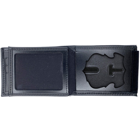 Springfield Police Department, MA Horizontal Bifold Hidden Badge Wallet-Perfect Fit-911 Duty Gear USA