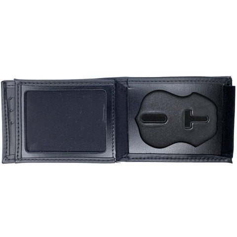 U.S. Department of Homeland Security - DHS (3in) Horizontal Bifold Hidden Badge Wallet-Perfect Fit-911 Duty Gear USA
