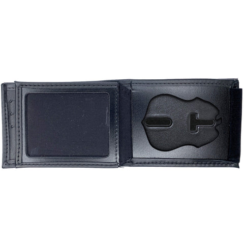 Transportation Security Administration - TSA (3in) Horizontal Bifold Hidden Badge Wallet-Perfect Fit-911 Duty Gear USA