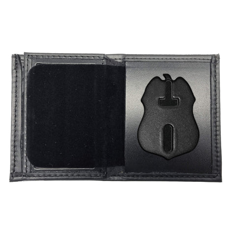 Transportation Security Administration - TSA (3in) Bifold Hidden Badge Wallet-Perfect Fit-911 Duty Gear USA