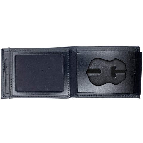 U.S. Immigration and Customs Enforcement - ICE (2.5in) Horizontal Bifold Hidden Badge Wallet-Perfect Fit-911 Duty Gear USA