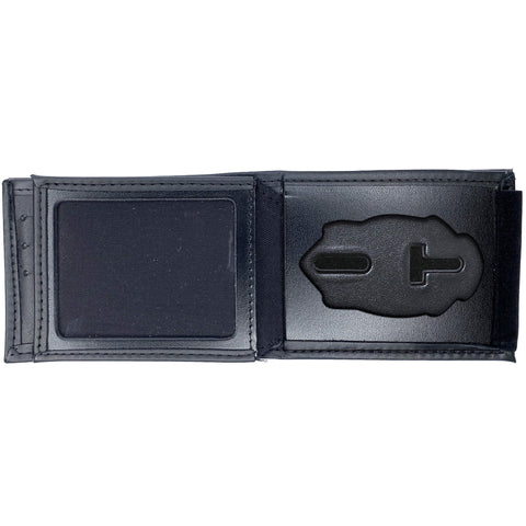 Raleigh Police Department Horizontal Bifold Hidden Badge Wallet-Perfect Fit-911 Duty Gear USA