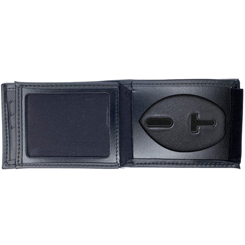 Concealed Weapons Permit Horizontal Bifold Hidden Badge Wallet-Perfect Fit-911 Duty Gear USA