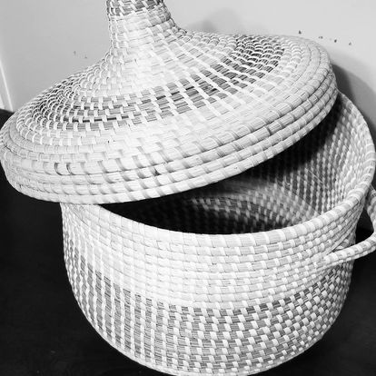Sweetgrass basket picture