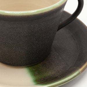 Conical Cup & Saucer Set