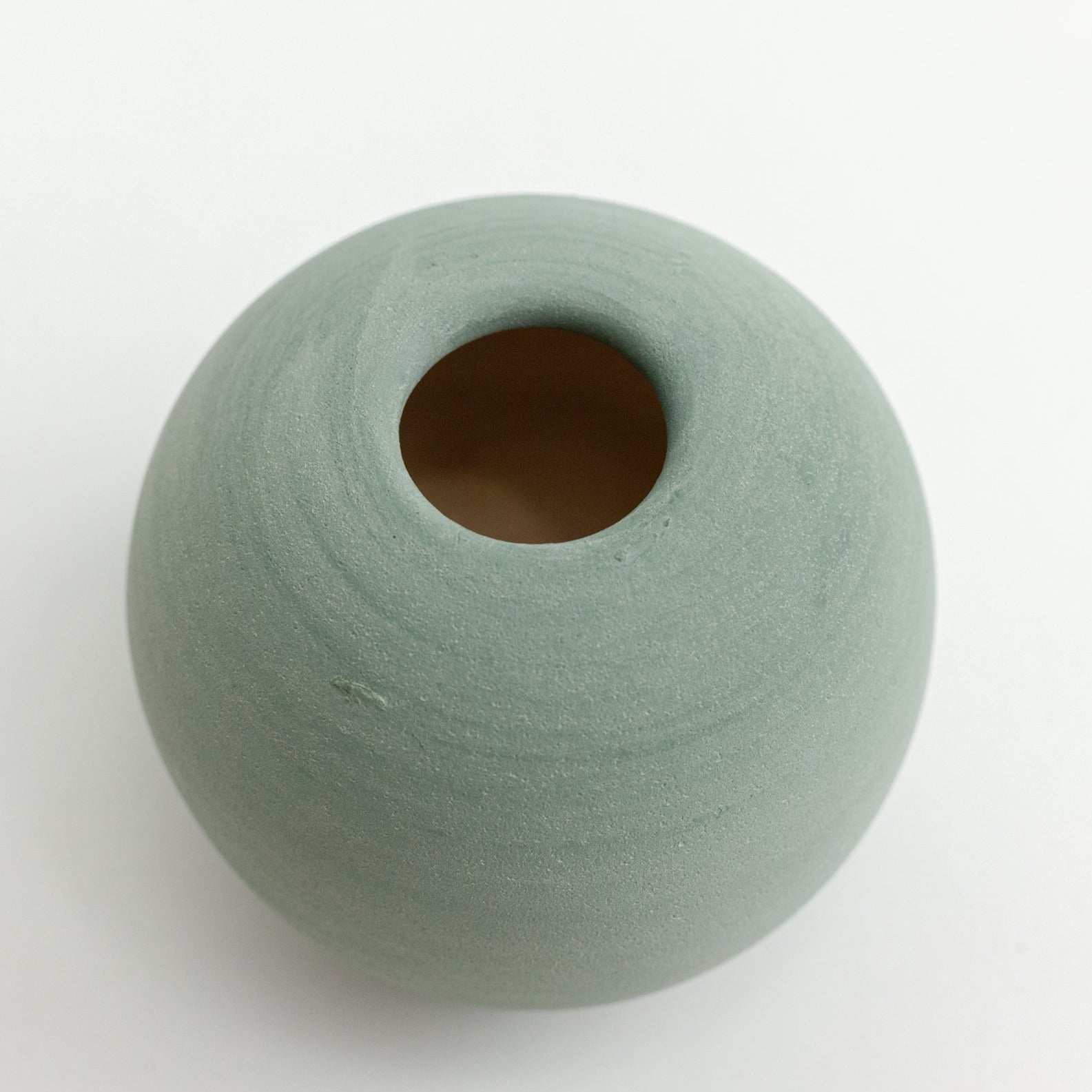 Green Bobble Vase