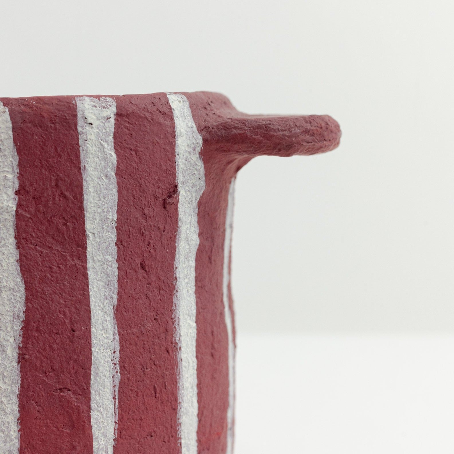 Red Stripe Pot