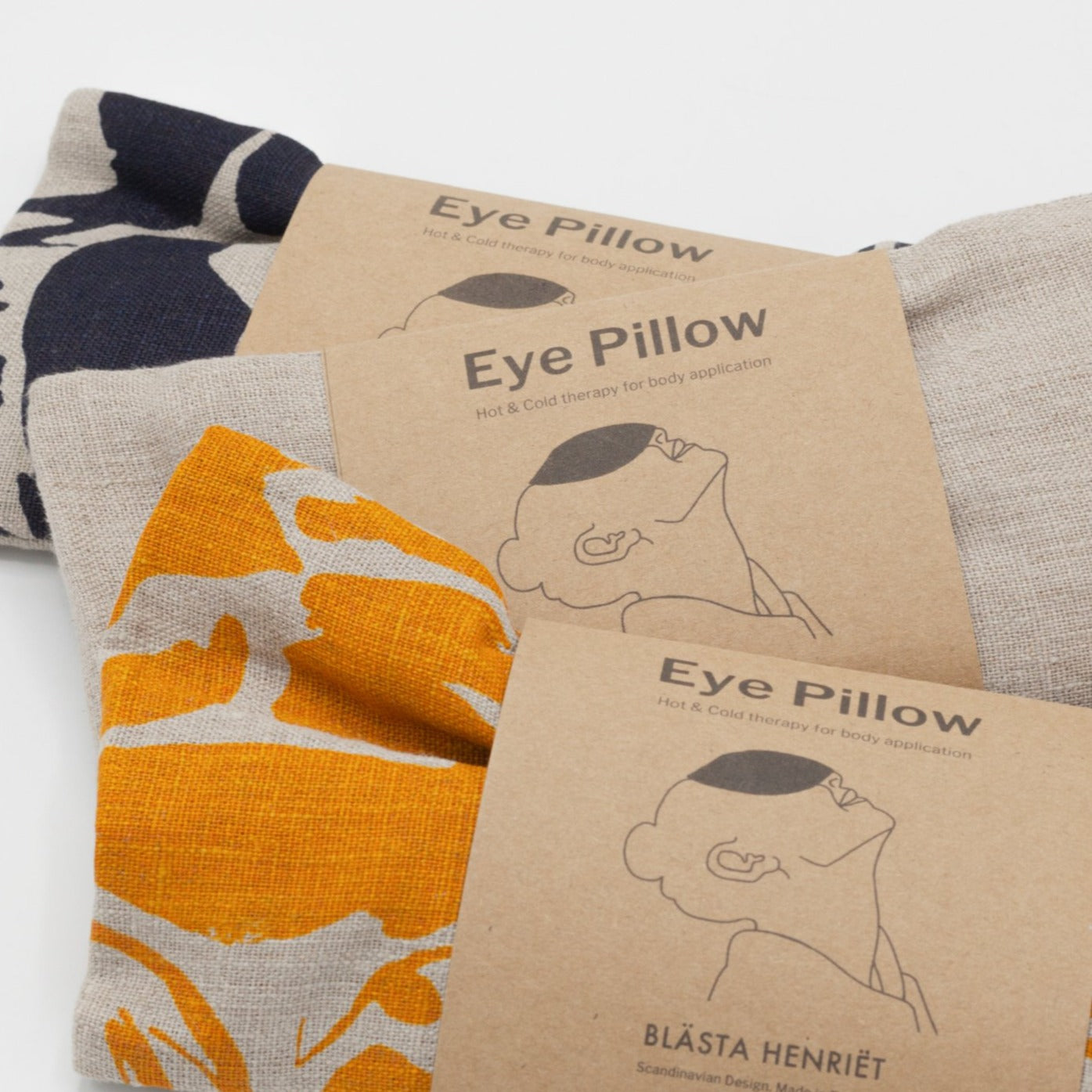 Blästa Henriët Linen Eye Pillow
