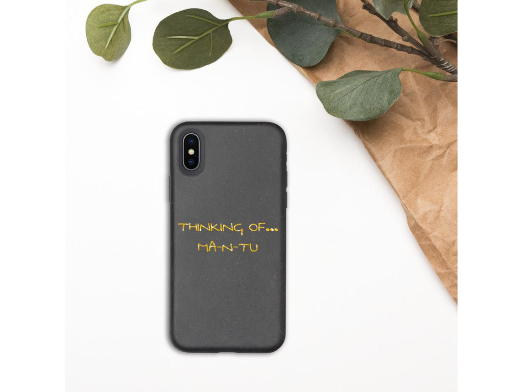 MA-N-TU iPhone Case