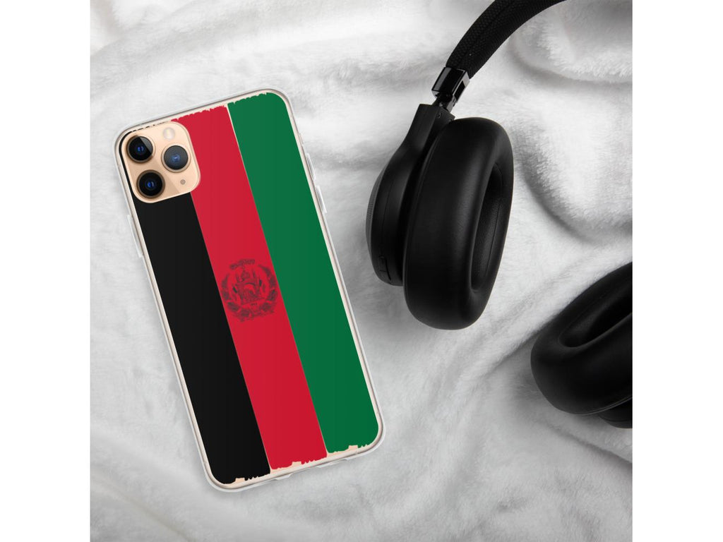 Afghan Flag iPhone Case