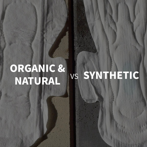 Conventional pads Vs. Organic Cotton pads