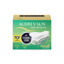 Load image into Gallery viewer, TCF Cotton Core Pantyliner Sanitary Pads 26P x4 - Audrey Sun