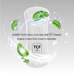 TCF Cotton Core Pantyliner Sanitary Pads 26P - Audrey Sun
