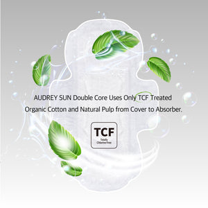 TCF Double Core Medium Sanitary Pads 12P - Audrey Sun