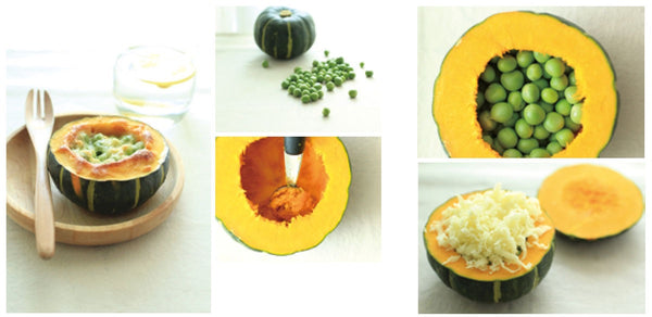 Baked Green Bean Butternut Squash with Cheese