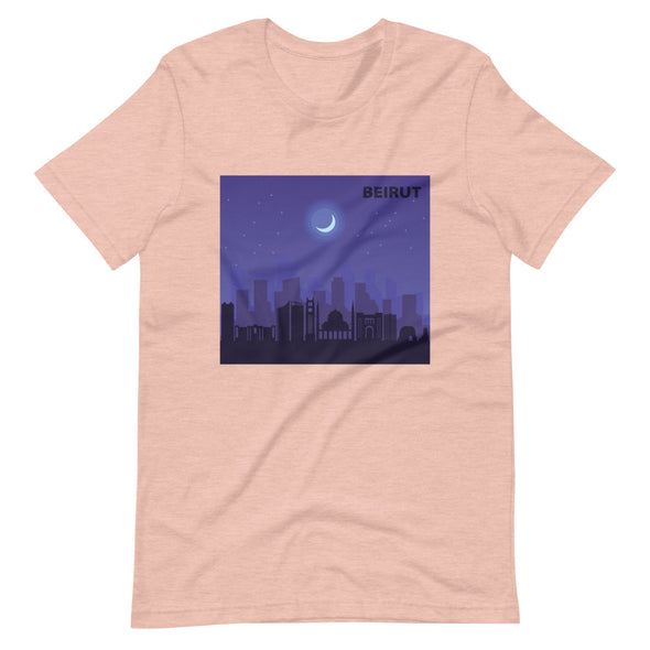Beirut Night / Short-Sleeve Loose Fit Women's T-Shirt / Colors (L021F)