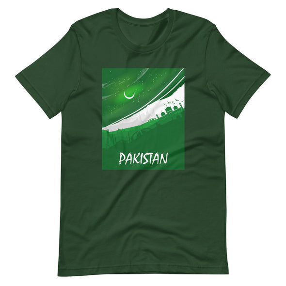 Pakistan 1 / Short-Sleeve Loose Fit Women's T-Shirt / Colors (K002F)