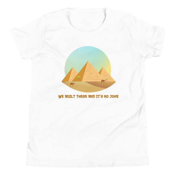 Pyramids / Youth Short Sleeve T-Shirt / Colors (E010Y)