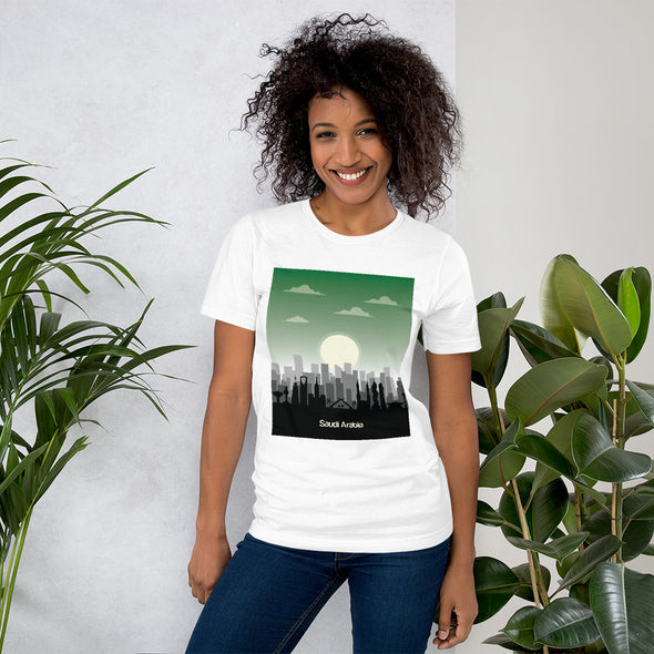 KSA / Short-Sleeve Loose Fit Women's T-Shirt / Colors (S002F)