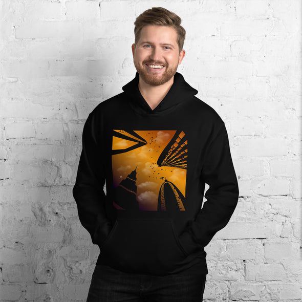 Dubai / Men's Heavy Blend Hoodie / Black (A149MH)