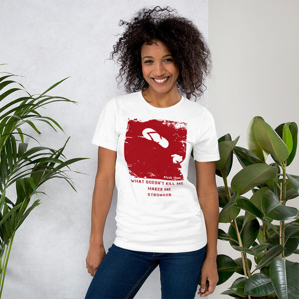 What Doesn't Kill Me Red / Short-Sleeve Loose Fit Women's T-Shirt / Colors (A026F)