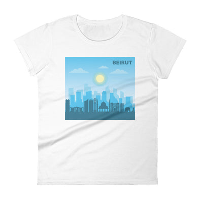 Beirut Day / Women's Fashion Fit T-Shirt / all colors (L024F)