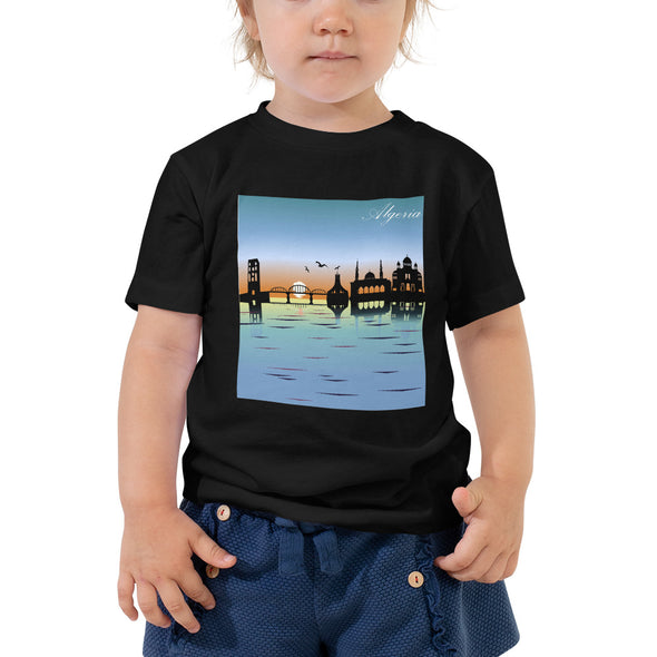 Algeria / Toddler Short Sleeve Tee / All Colors (G005T)