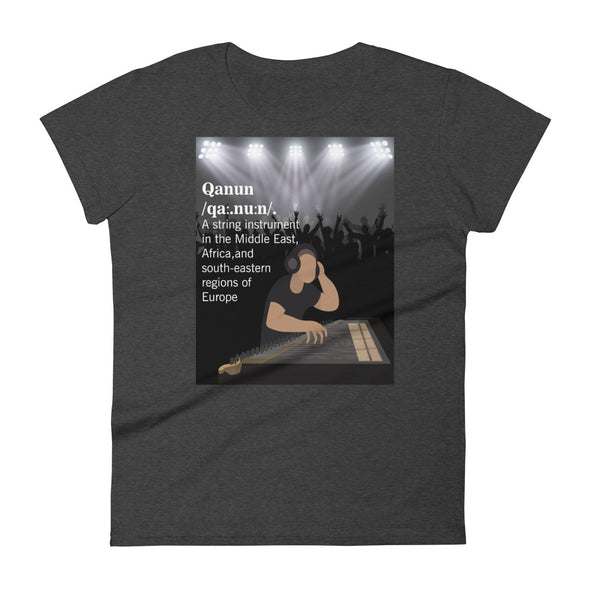 Qanun / Women's Fashion Fit T-Shirt / All Colors (A036F)