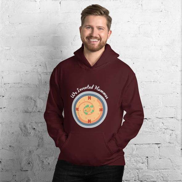 Hummus / Men's Heavy Blend Hoodie / Dark Colors (L114MH)