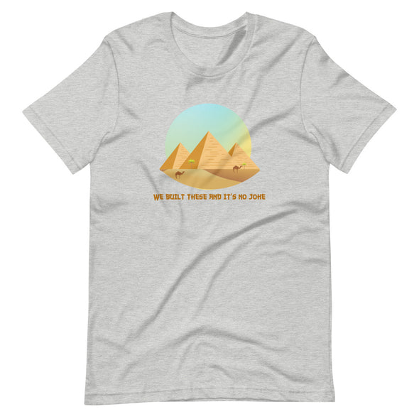 Pyramids / Short-Sleeve Classic Men's T-Shirt / Colors (E006M)
