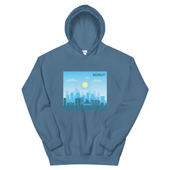 Beirut Day / Women's Heavy Blend Hoodie / Colored (L121FH)